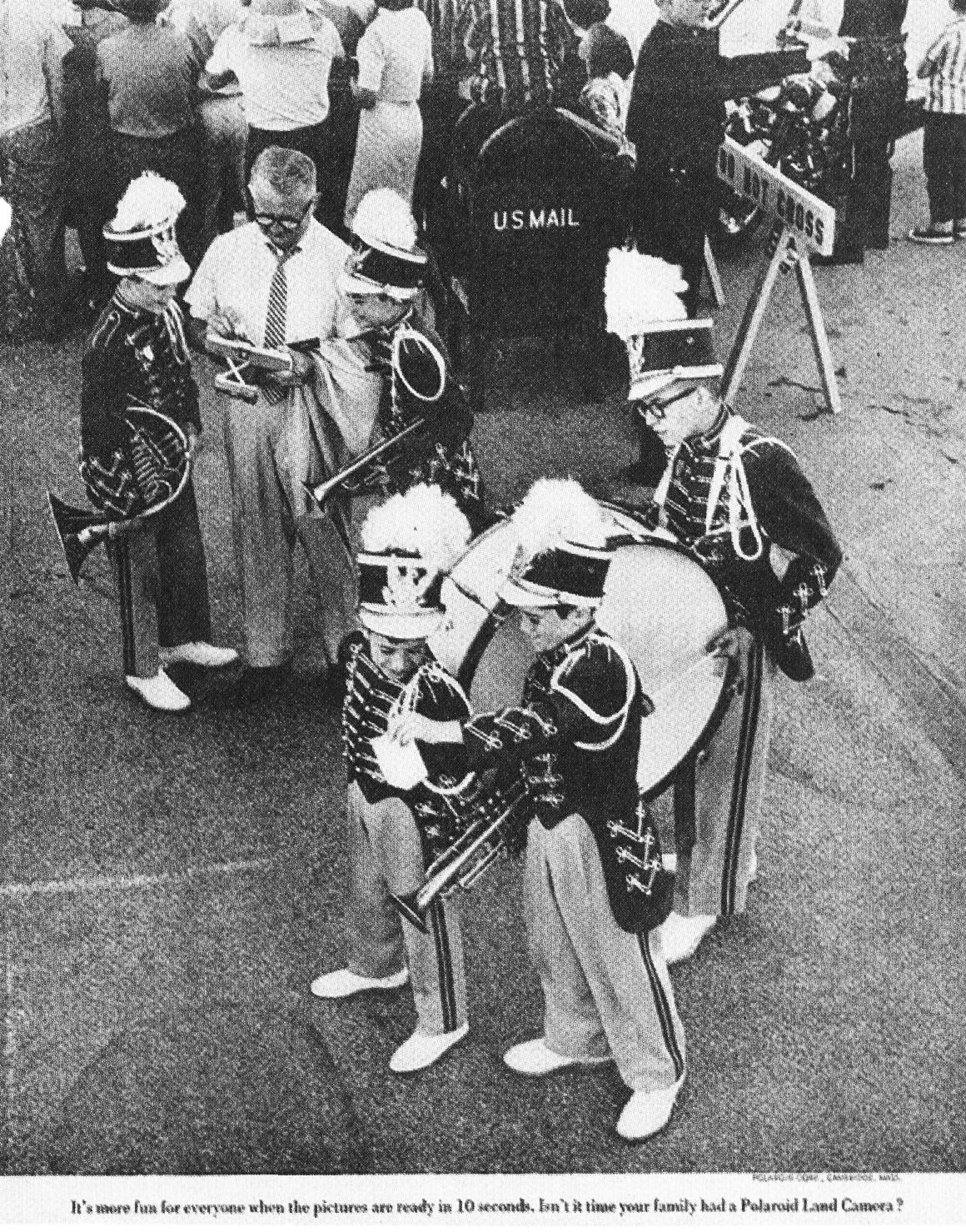 'Marching Band' Polaroid, Howard Zieff, DDB NY-01.jpg