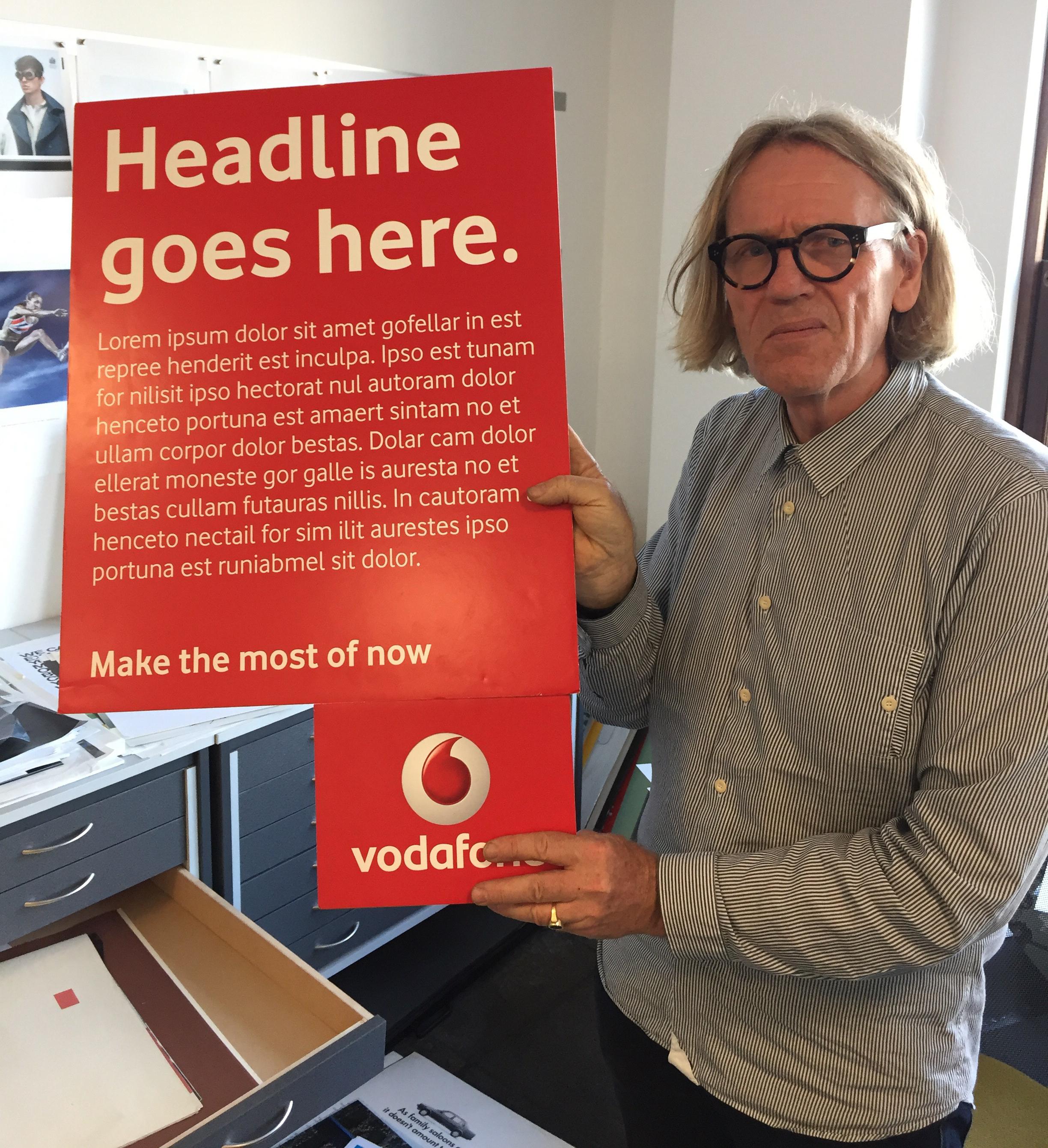 'Mark Reddy & Vodaphone props