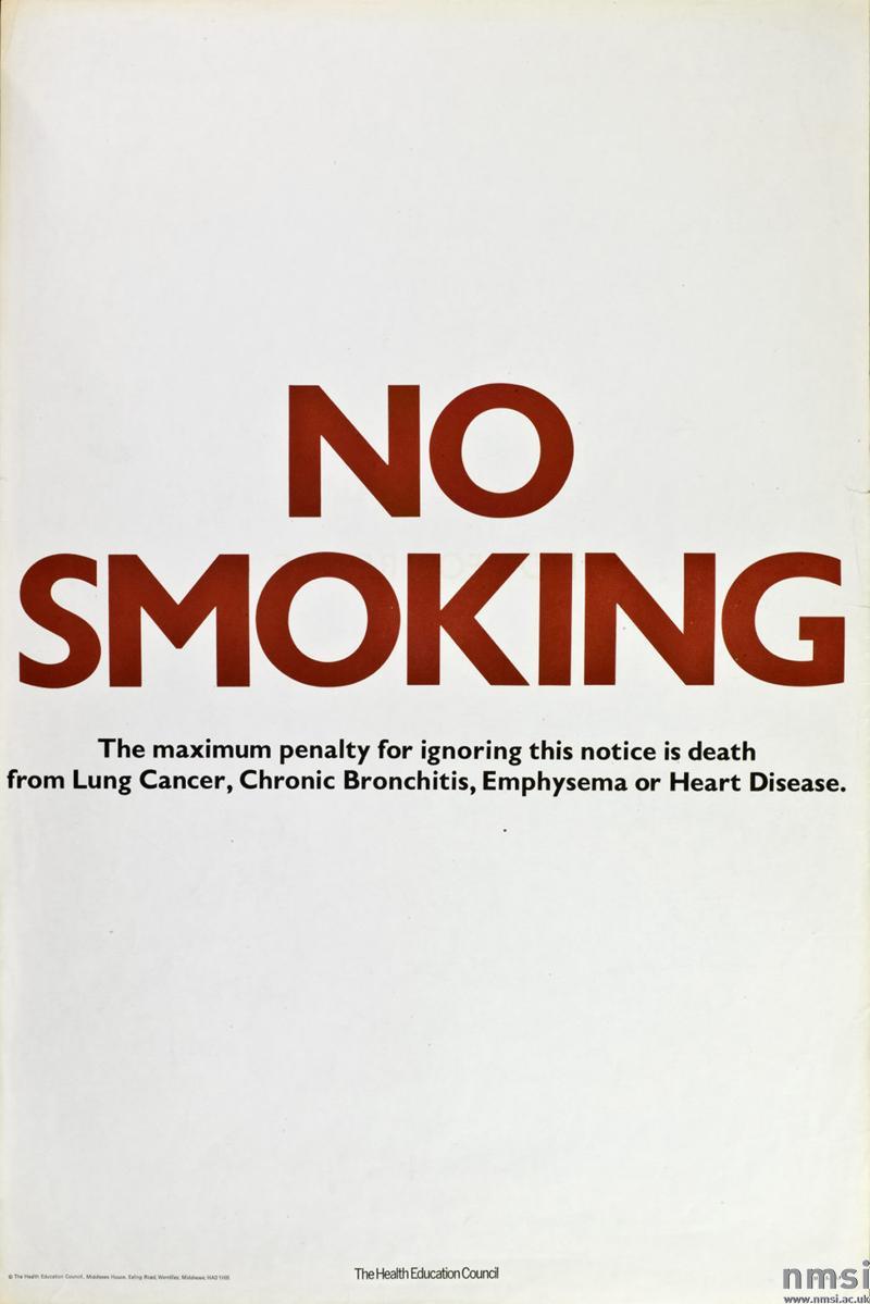 'No Smoking' H.E.C. Jeremy Sinclair, Cramer Saatchi.JPG