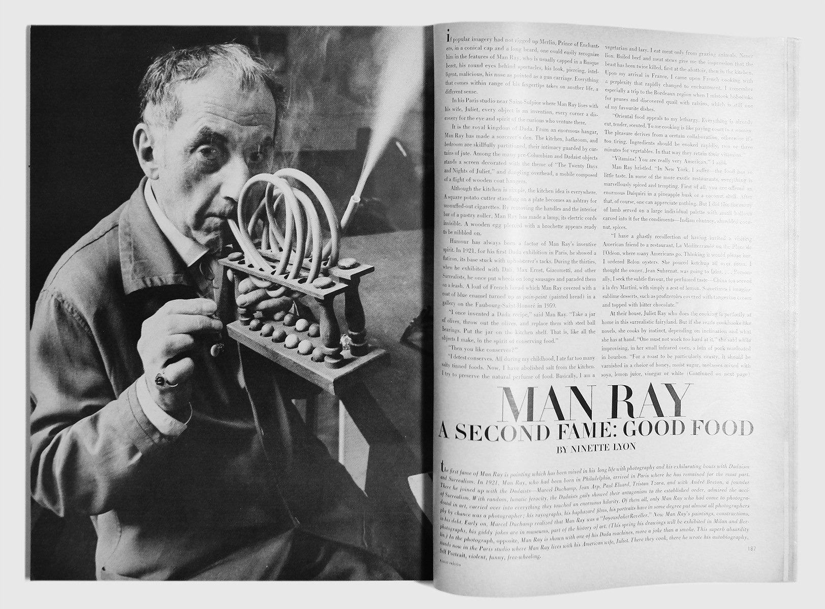 Robert Freson 'Man Ray'