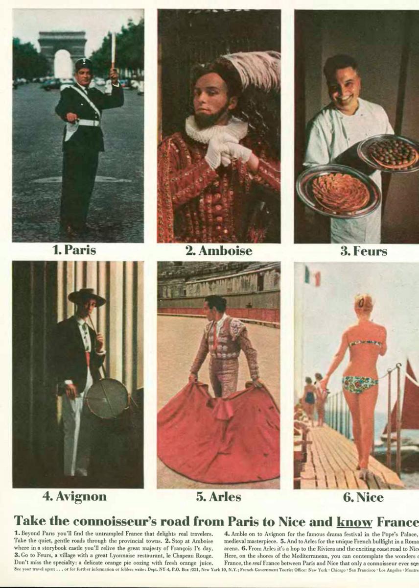 'Take The Connosieur's' French Tourist Board, DDB NY, 1960's, Elliott Erwitt.jpg