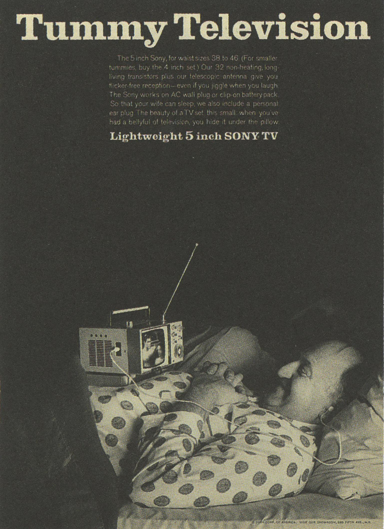'Tummy Television*' Sony, DDB NY.jpg