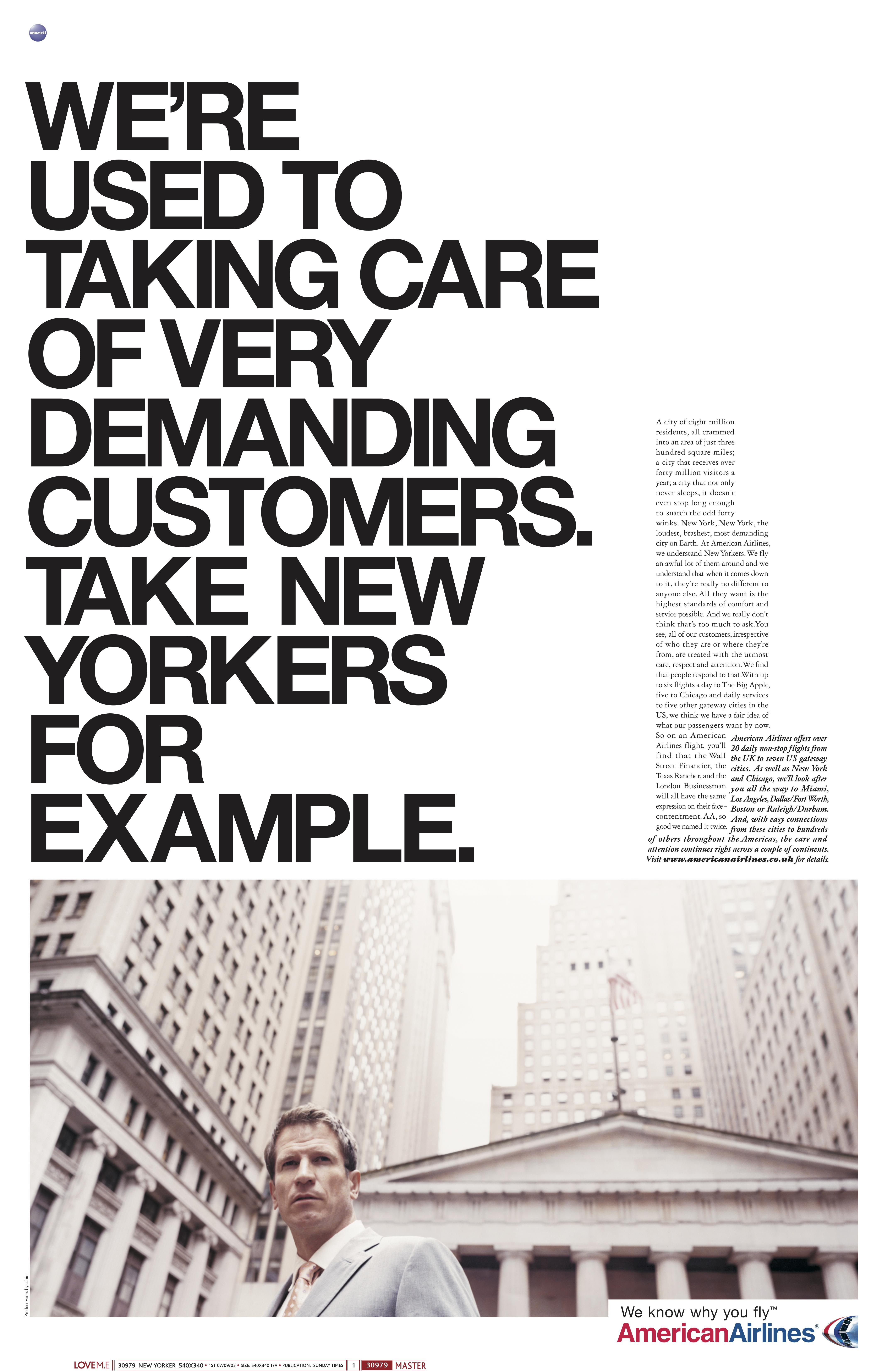 'We're Used Tor' American Airlines, Mark Reddy, McCann's.jpg