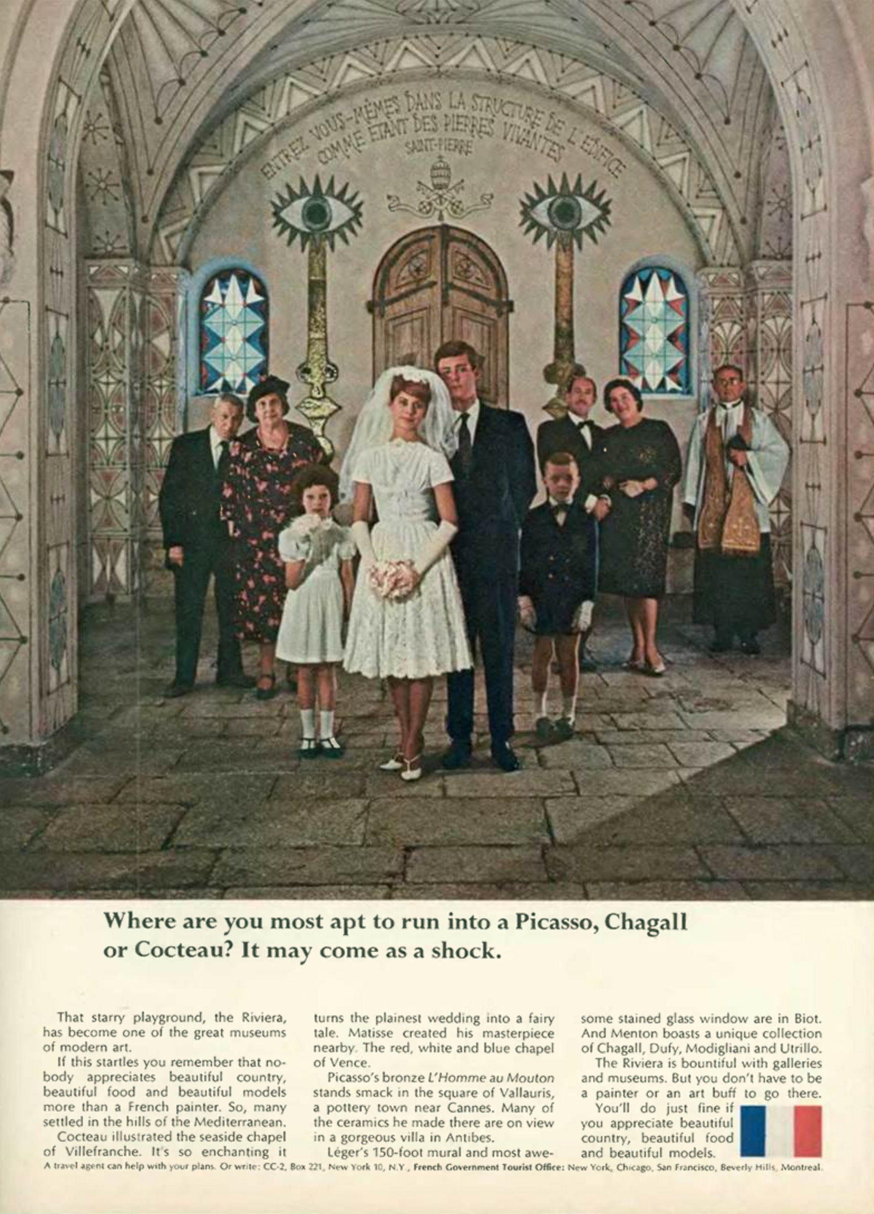 'Where Are You Most' French Tourist Board, DDB NY, 1960's.png