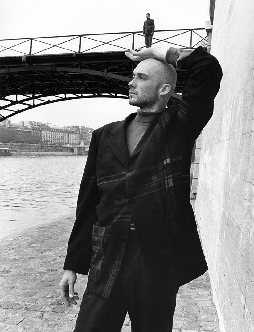 'BridgeMan' Paris, Matsuda,1992, ©geof kern