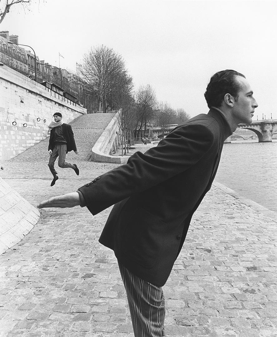 'Hand Man' Paris, Matsuda,1992, ©geof kern