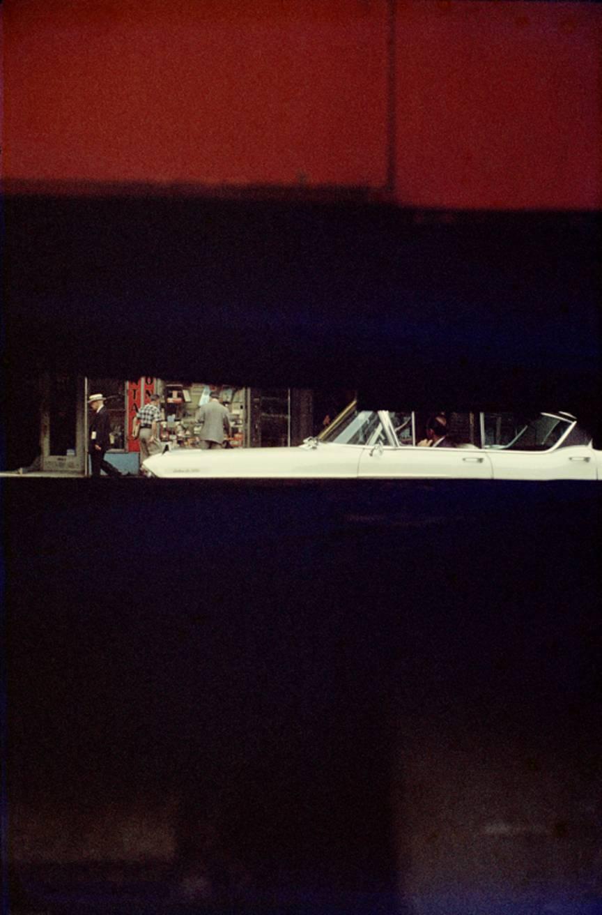 0. 'White Car' Saul Leiter:Dave Dye