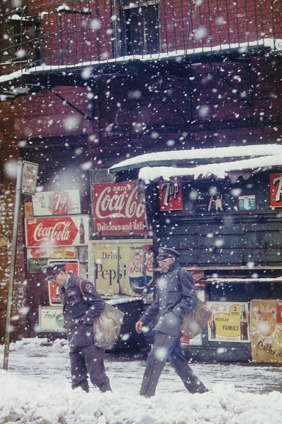 1. 'Coke Snow'Snow Car', Saul Leiter:Dave Dye