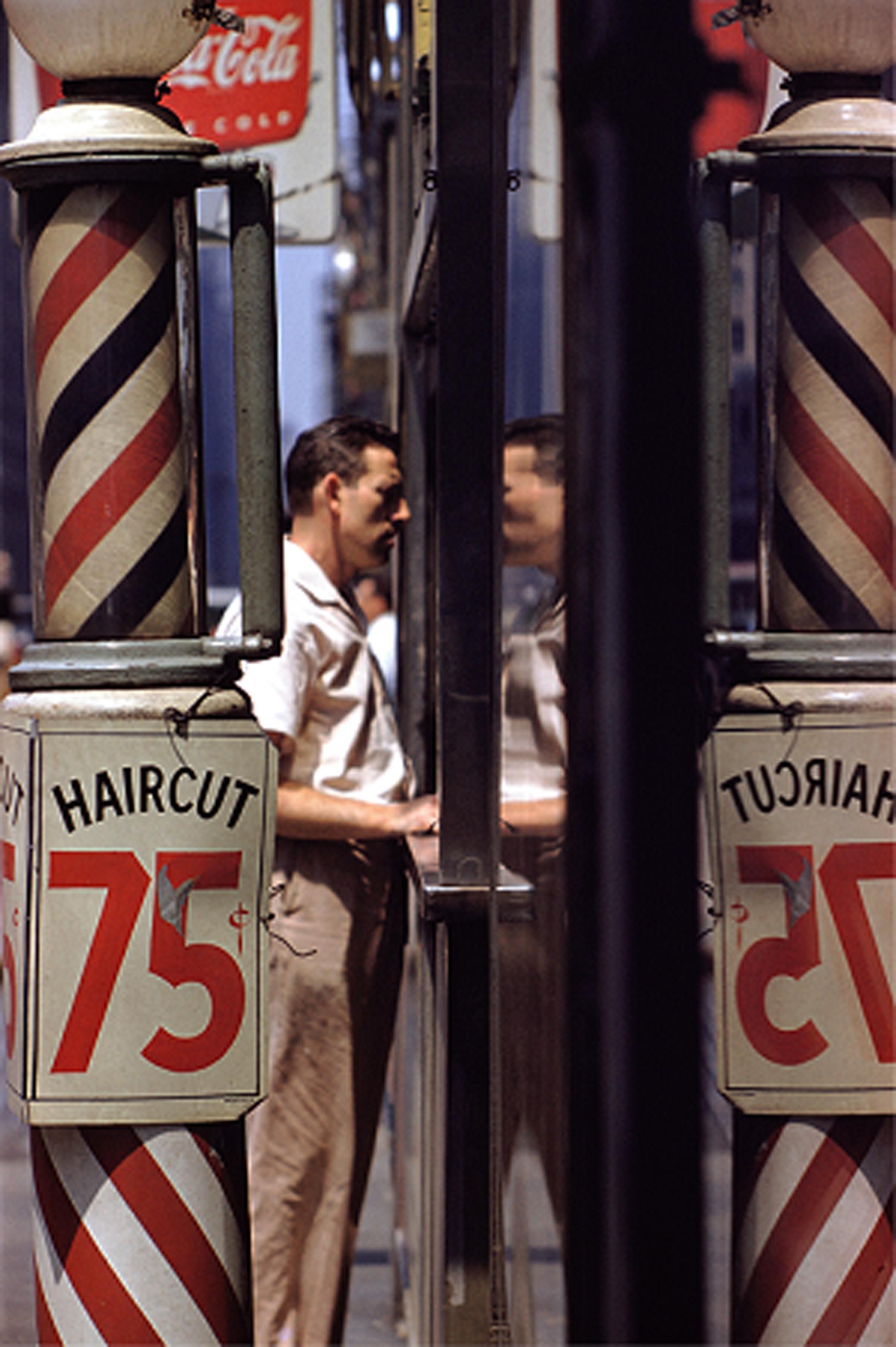 1. 'Haircut', Saul Leiter:Dave Dye