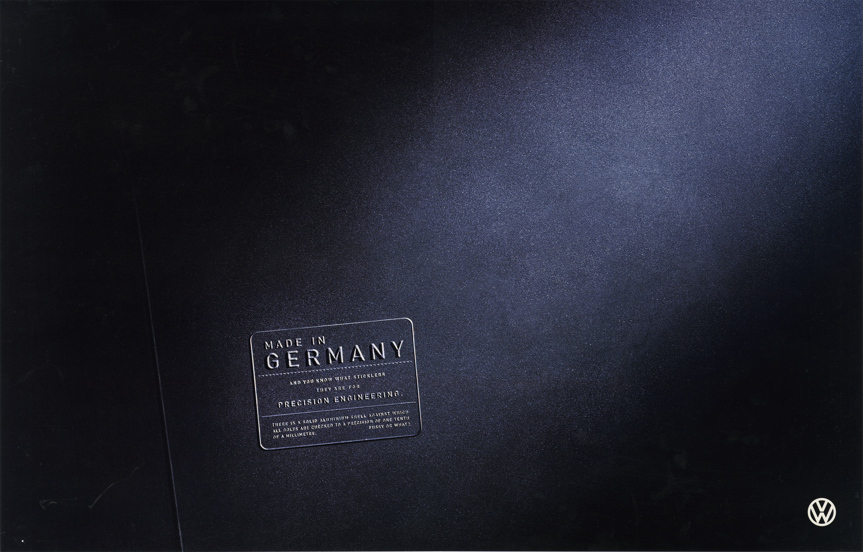 Volkswagen, Fleet Stickers, 'Germany (Black Logo)', BMP-DDB-01.jpg